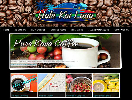 Hale Kai Lana - Web Design sample - Best of Monterey web site Nominee