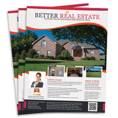 Real Estate Flyers Pixels Graphic Design